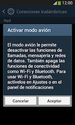 Samsung S7580 Galaxy Trend Plus - Funciones básicas - Activar o desactivar el modo avión - Paso 6