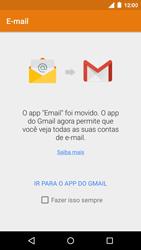 Motorola Moto G (3ª Geração) - Email - Como configurar seu celular para receber e enviar e-mails - Etapa 4