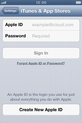Apple iPhone 4 S - Applications - Create an account - Step 4