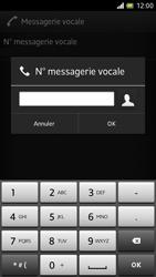 Sony LT28h Xperia ion - Messagerie vocale - Configuration manuelle - Étape 7
