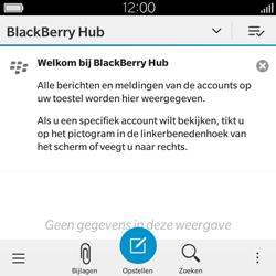 BlackBerry Classic - E-mail - Hoe te versturen - Stap 4