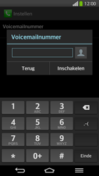 LG D955 G Flex - Voicemail - Handmatig instellen - Stap 8