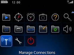 BlackBerry 9300 Curve 3G - WiFi and Bluetooth - Manual configuration - Step 3