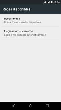 Motorola Moto X Play - Red - Seleccionar una red - Paso 7