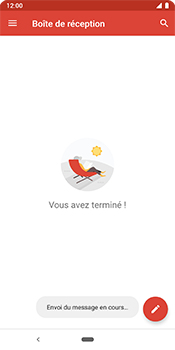 Google Pixel 3 - E-mail - Envoi d