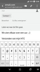 HTC Desire 530 - E-mail - Hoe te versturen - Stap 10