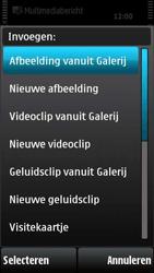 Nokia X6-00 - MMS - afbeeldingen verzenden - Stap 11