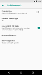 LG Nexus 5X - Android Oreo - Network - Change networkmode - Step 9