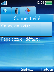 Sony Ericsson W100i Spiro - Internet - Configuration manuelle - Étape 5