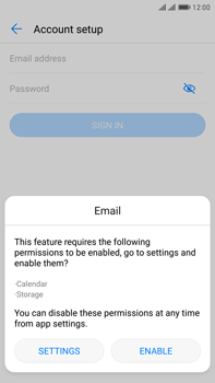 Huawei Mate 9 Pro - Email - Manual configuration IMAP without SMTP verification - Step 5