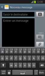 Samsung Galaxy Express - Contact, Appels, SMS/MMS - Envoyer un SMS - Étape 5