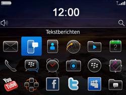 BlackBerry 9780 Bold - SMS - Handmatig instellen - Stap 3