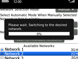 BlackBerry 9300 Curve 3G - Network - Usage across the border - Step 8