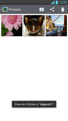 LG Optimus F5 - Photos, vidéos, musique - Envoyer une photo via Bluetooth - Étape 12