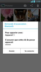 LG Optimus F5 - Photos, vidéos, musique - Envoyer une photo via Bluetooth - Étape 11