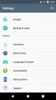 Sony Xperia XA1 Plus - Device maintenance - Create a backup of your data - Step 4