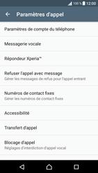 Sony Xperia E5 - Messagerie vocale - configuration manuelle - Étape 6