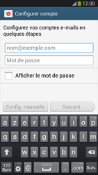 Samsung C105 Galaxy S IV Zoom LTE - E-mail - Configuration manuelle - Étape 5