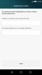 Huawei P8 Lite - E-mail - Configurar Yahoo! - Paso 9