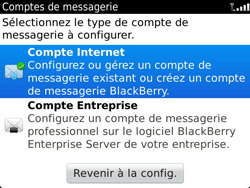 BlackBerry 9900 Bold Touch - E-mail - Configuration manuelle - Étape 5
