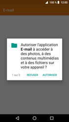 Crosscall Core X3 - E-mails - Ajouter ou modifier votre compte Outlook - Étape 4