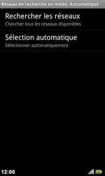 Acer Liquid Metal S120 - Réseau - Utilisation à l