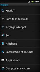 Sony MT27i Xperia Sola - Messagerie vocale - Configuration manuelle - Étape 4