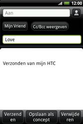 HTC A510e Wildfire S - E-mail - e-mail versturen - Stap 6