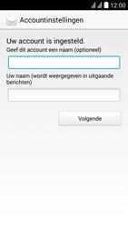 Huawei Y625 - E-mail - e-mail instellen: POP3 - Stap 18