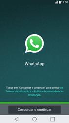 LG G5 - Aplicações - Como configurar o WhatsApp -  5