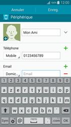 Samsung Galaxy A5 (A500FU) - Contact, Appels, SMS/MMS - Ajouter un contact - Étape 10