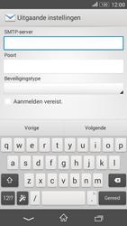 Sony Xperia E4g (E2003) - E-mail - Account instellen (IMAP zonder SMTP-verificatie) - Stap 13