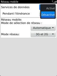 BlackBerry 9810 Torch - Internet - Activer ou désactiver - Étape 6