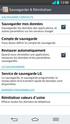 LG G2 - Aller plus loin - Restaurer les paramètres d'usines - Étape 6