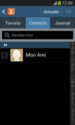 Samsung Galaxy Ace 3 - Contact, Appels, SMS/MMS - Envoyer un SMS - Étape 6