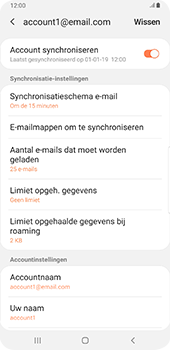 Samsung galaxy-s9-plus-sm-g965f-android-pie - E-mail - Instellingen KPNMail controleren - Stap 9