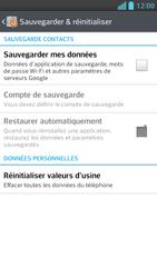 LG Optimus F5 - Aller plus loin - Restaurer les paramètres d'usines - Étape 5