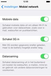Apple iPhone 4 S iOS 7 - Internet - Dataroaming uitschakelen - Stap 4
