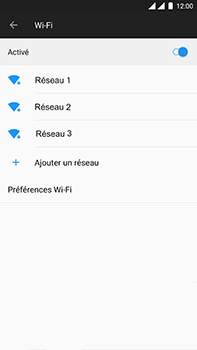 OnePlus 3 - Android Oreo - Wifi - configuration manuelle - Étape 5