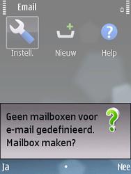 Nokia E75 - E-mail - Handmatig instellen - Stap 5