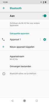Xiaomi mi-a2-lite-dual-sim-m1805d1sg - Bluetooth - Headset, carkit verbinding - Stap 10
