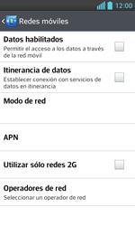 LG Optimus L5 II - Mensajería - Configurar el equipo para mensajes multimedia - Paso 6