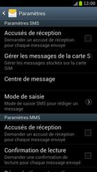 Samsung I9300 Galaxy S III - SMS - configuration manuelle - Étape 5