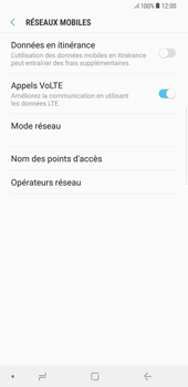 Samsung Galaxy S8 Plus - Android Oreo - Réseau - utilisation à l'étranger - Étape 9