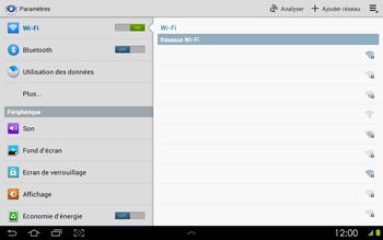 Samsung P5100 Galaxy Tab 2 10-1 - Wifi - configuration manuelle - Étape 4