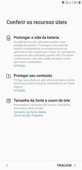Samsung J4+ - Primeiros passos - Como ativar seu aparelho - Etapa 19