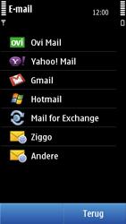Nokia N8-00 - E-mail - Handmatig instellen - Stap 7