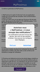 Apple iPhone 6 iOS 10 - Applications - MyProximus - Étape 12
