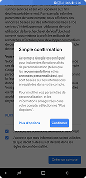 Samsung Galaxy A7 2018 - Applications - Créer un compte - Étape 17