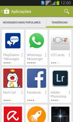 Samsung Galaxy Fresh Duos - Aplicações - Como pesquisar e instalar aplicações -  12